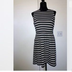 Madewell Stripe Afternoon Dresss Size M